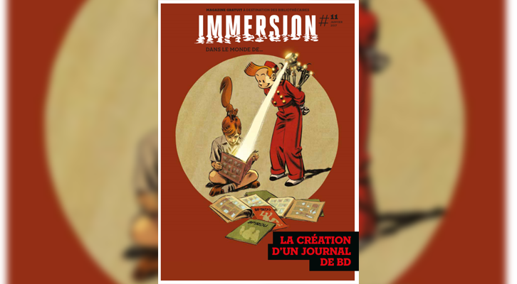 "Immersion : ""Dans le monde du… Journal de Spirou"" 