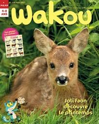 Wakou : pour les petits curieux de nature   Ruffenach, Pascal. Directeur de publication