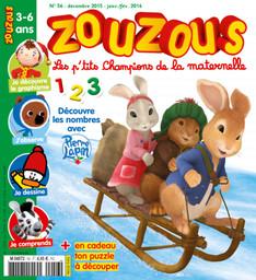 Zouzous : les p'tits champions de la maternelle   Ruffenach, Pascal. Directeur de publication