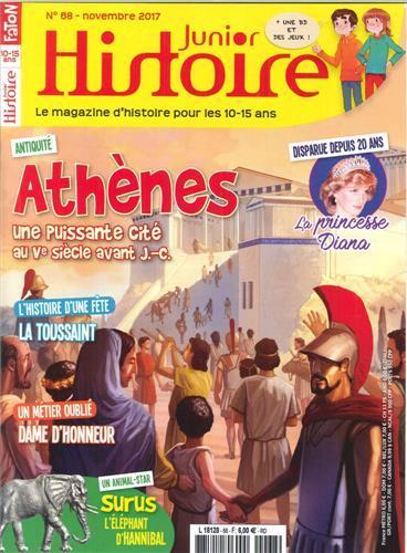Histoire junior : le magazine d'histoire pour les 10-15 ans   Fabre, Olivier. Directeur de publication