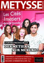 Metysse Magazine : le bimestriel de l'éducation   Damour, Vanessa. Directeur de publication