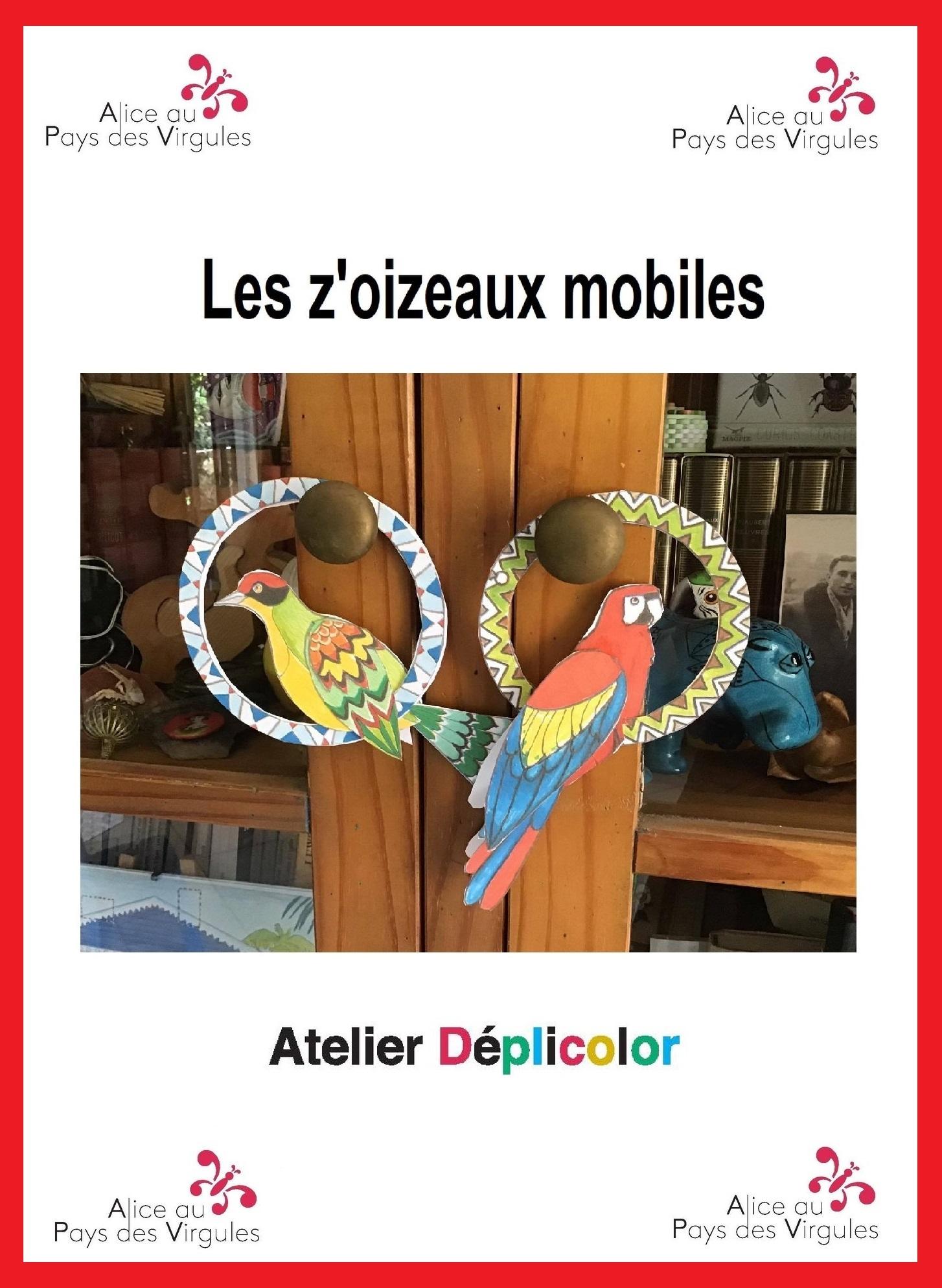 LES Z'OIZEAUX MOBILES, par Julie LEGRAND  