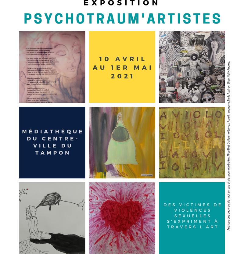 PSYCHOTRAUM'ARTISTES, par l'association Osez le féminisme ! Réunion  